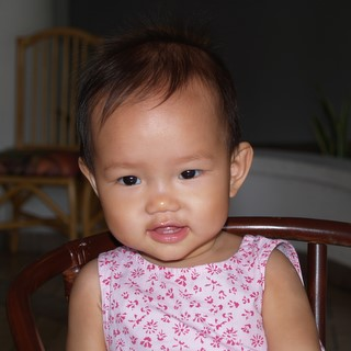 Zaria at 10th month