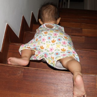 Favourite Activity : Climbing Up and Down stairs