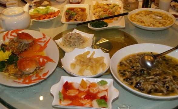 Wang Bao He Crab Banquet