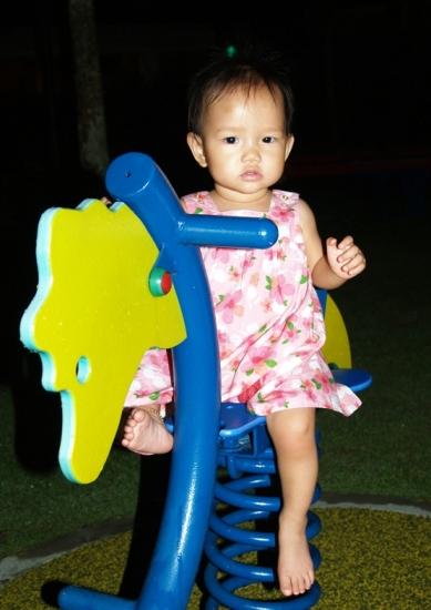 Zaria at 1yr old