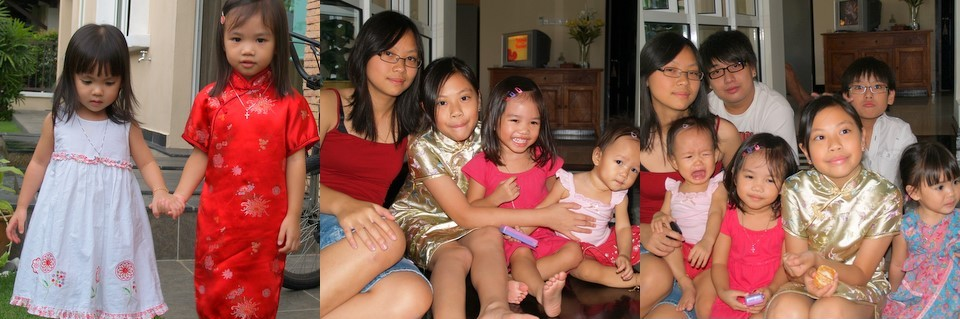 Chinese New Year 2008 - with cousins
