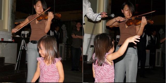 Zara dancing