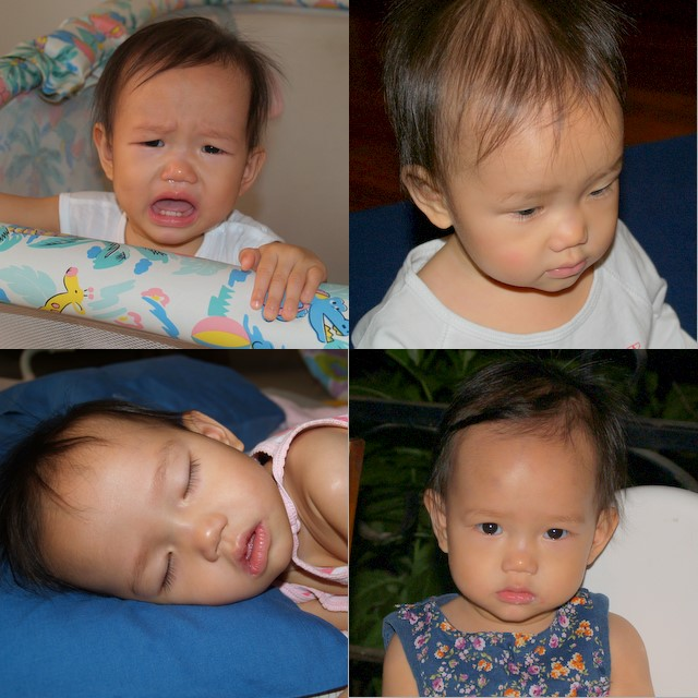 Faces of Zaria at 14th Month