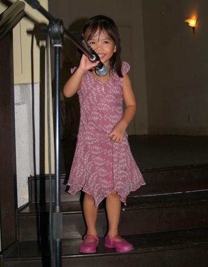 Zara singing