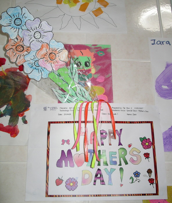 Zara's Mother's Day Drawing