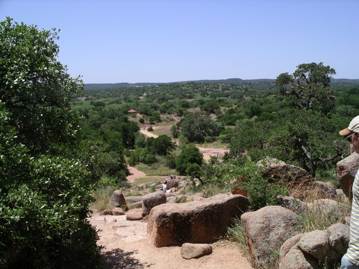 The Trail up Enchanted Rock