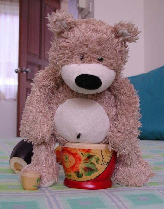 Bear Poo-ing