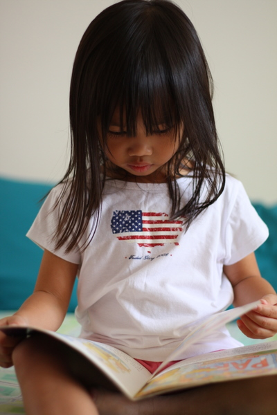 Zara reading