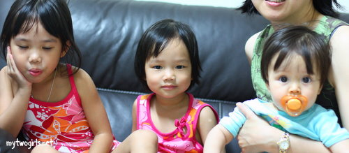 Zara, Zaria and Maya