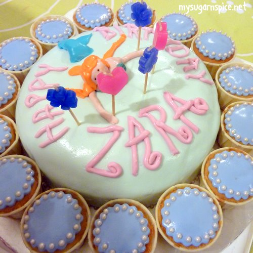 Zara's 5th birthday cake
