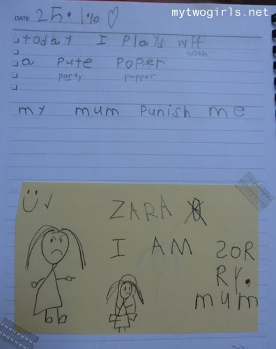 Zara's writing