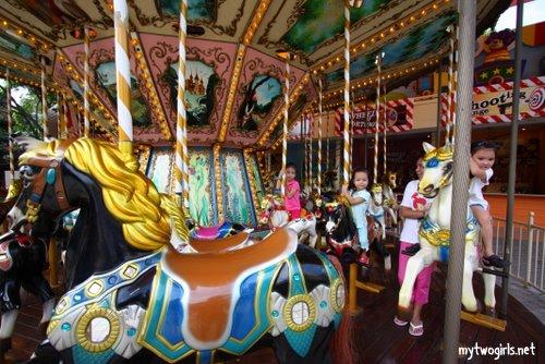 Girls at Sunway Carousel
