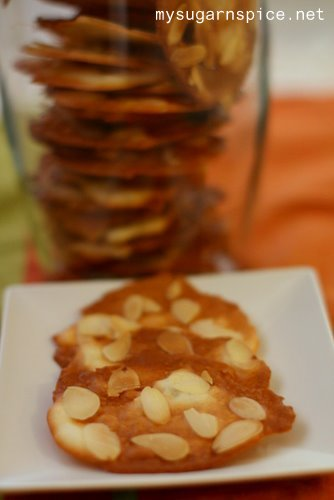 Almond Tile Cookies