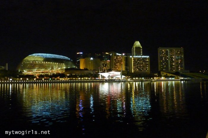 Esplanade in the night