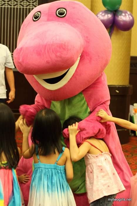 I love Barney!