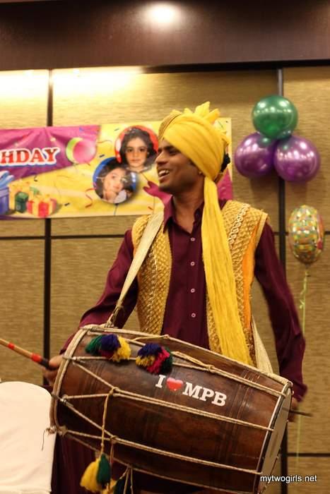 Sikh Drummer