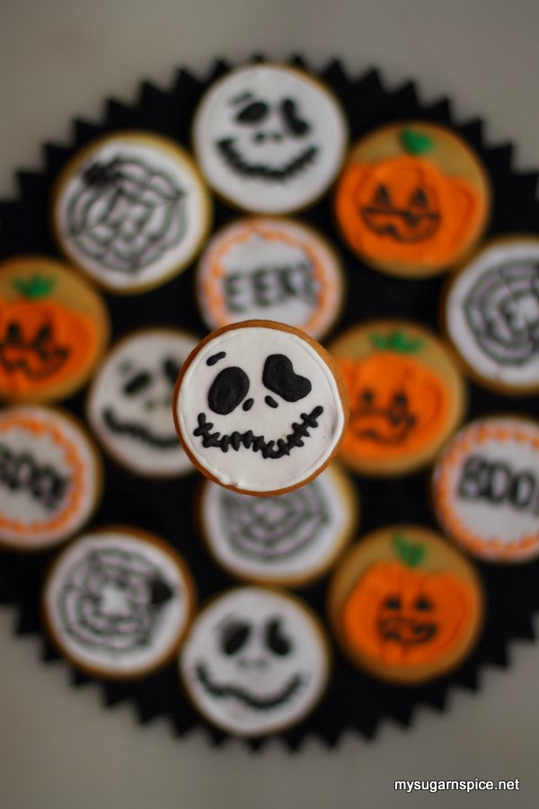 Halloween Theme Biscuits