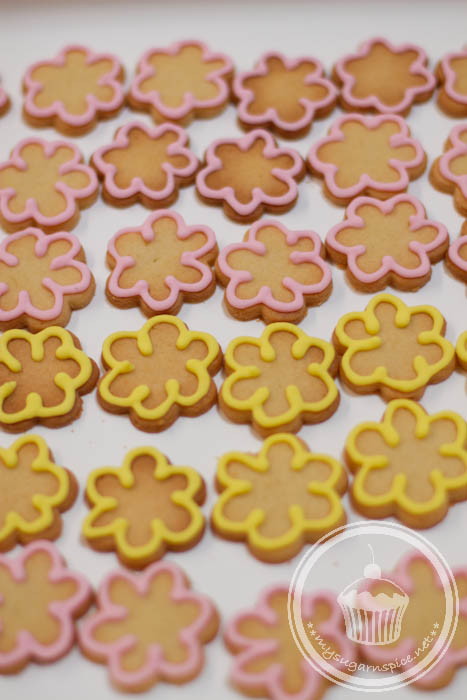 Flower Biscuits