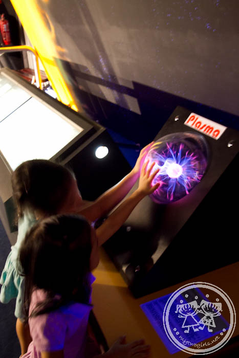 The National Science Centre - Static Electricity Plasma