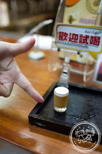 Miniature sampler - bubble tea