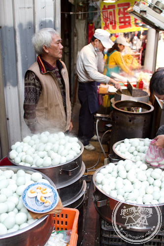 Salted eggs seller