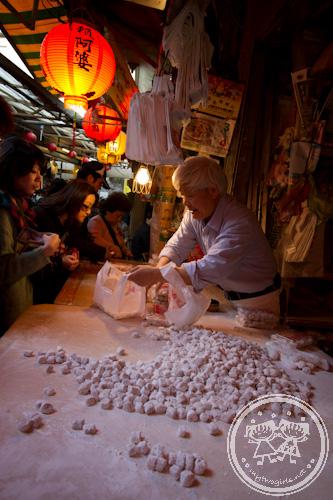 Taro Balls seller