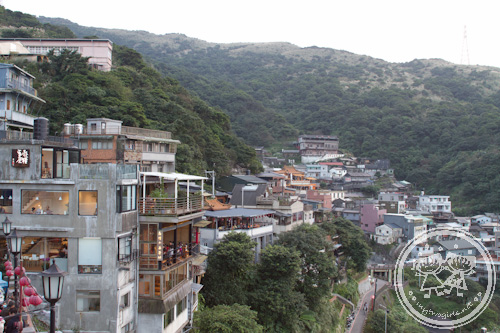 View of Jiufen Old Street