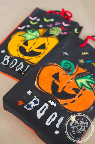 Haloween trick or treat bags