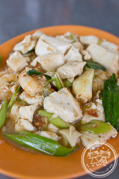 Stir Fry Tofu with Leeks