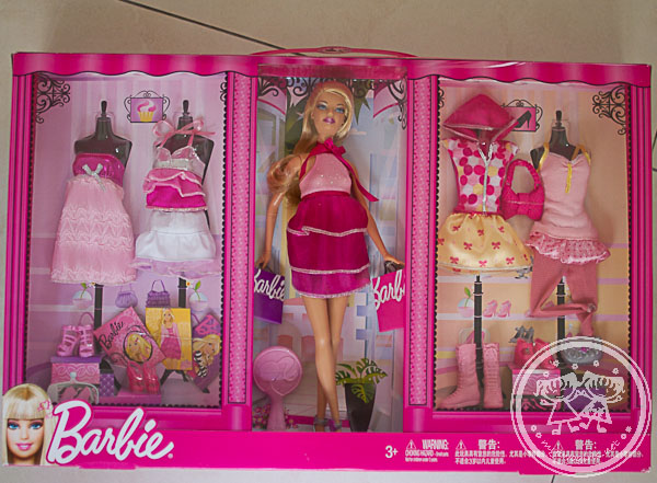 Barbie Fashion Combo Holiday Set