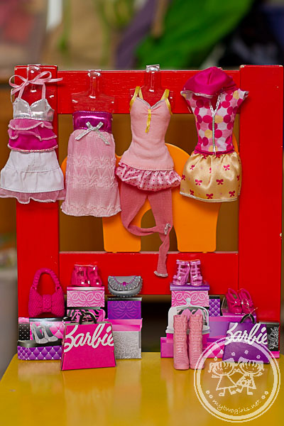 Barbie's wardrobe