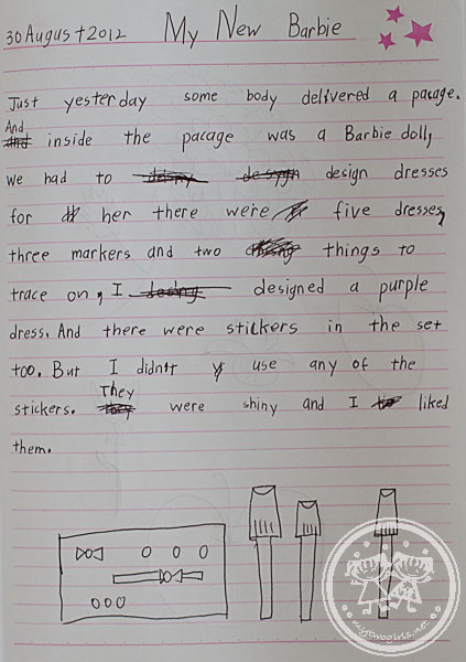 Zara's writing about Barbie Design and Dress Studio