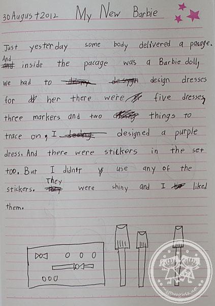 Zara's writing about Barbie Design and Dress Studio