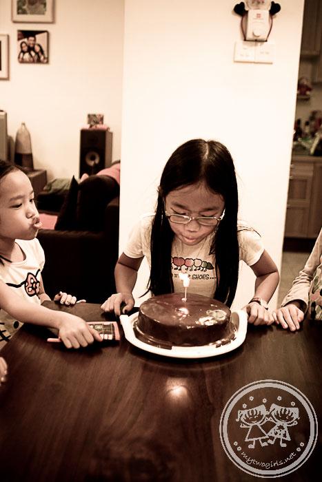 Zara's 8th birthday