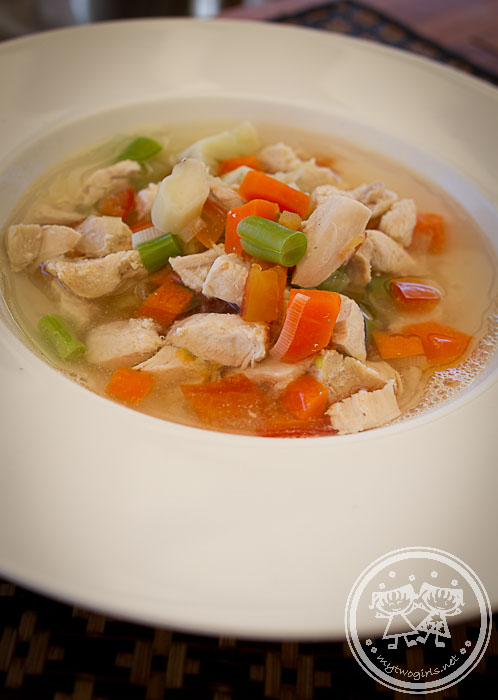 Jeeva Beloam lunch - chicken soup
