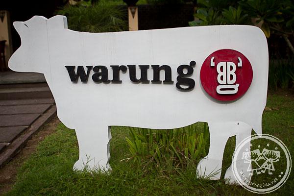 A BBQ Warung At Senggigi