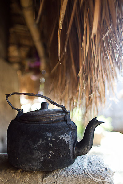 Old Kettle in Sasak Village