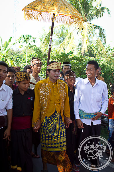 Lombok wedding - Groom