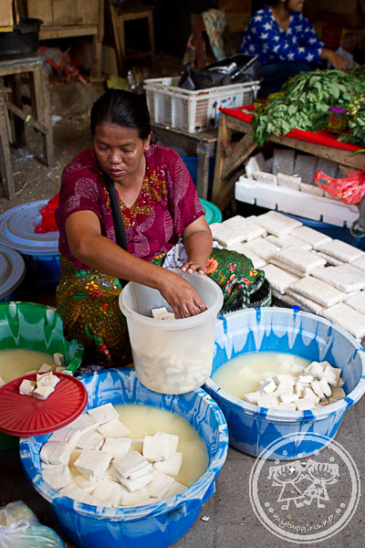 Tempe and Tofu Seller