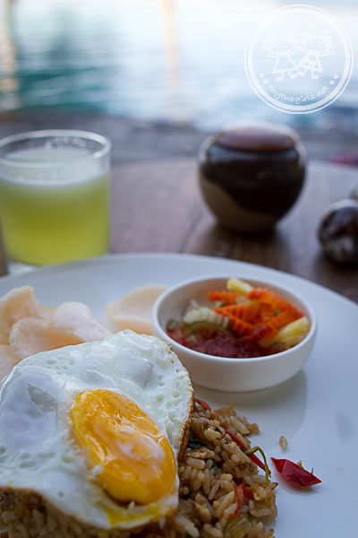 Breakfast at Jeeva Klui - Nasi Gorent