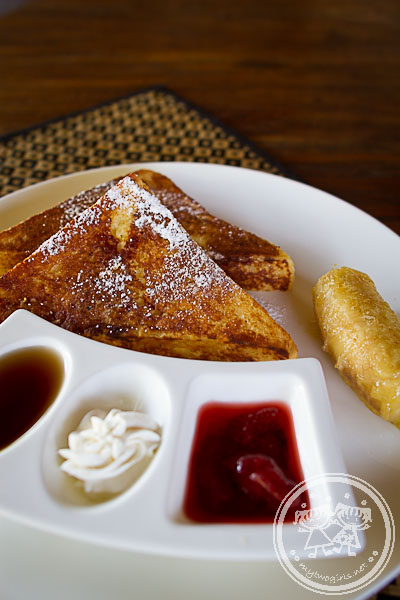 Breakfast at Jeeva Klui - French Toasts