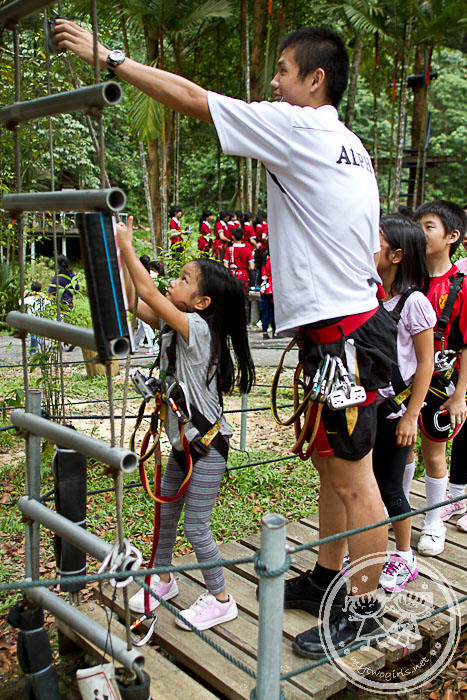 Skytrex - training trail