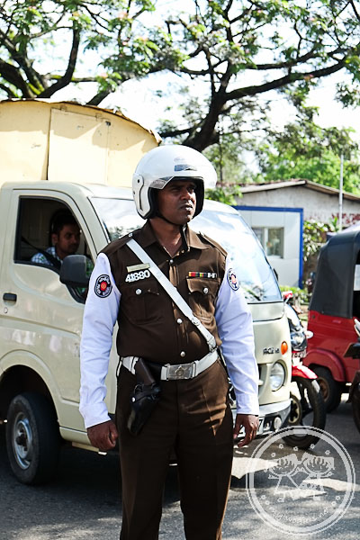 Policeman at Demonstration