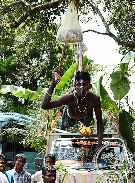 Man Hanging Tamil Celebration