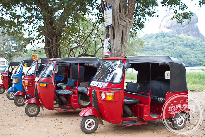Tuk Tuk at Sigiriya