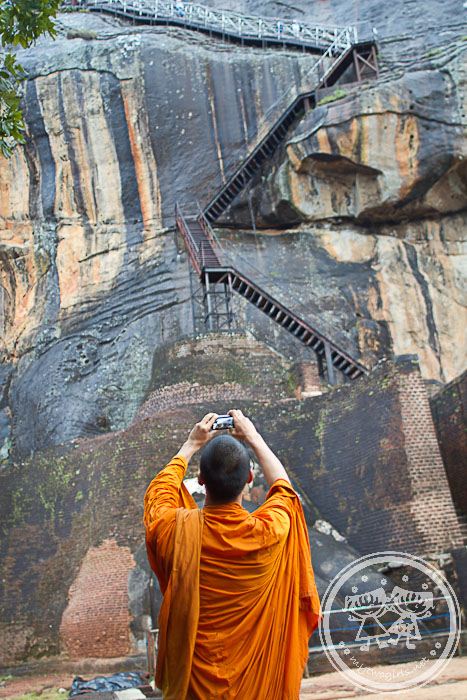 Monk Taking Photos