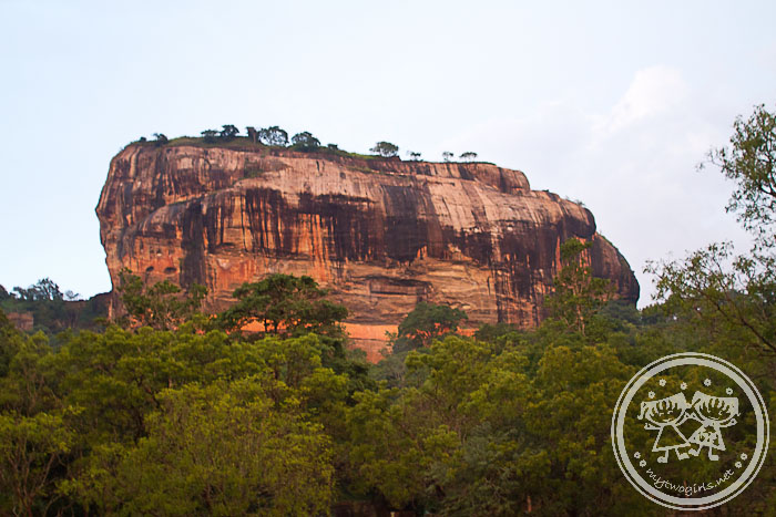 Sigiriya In The Evening
