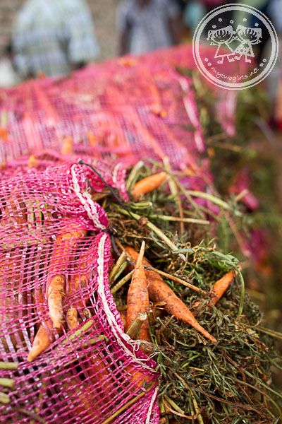Carrots at Dambulla Wholesale Market