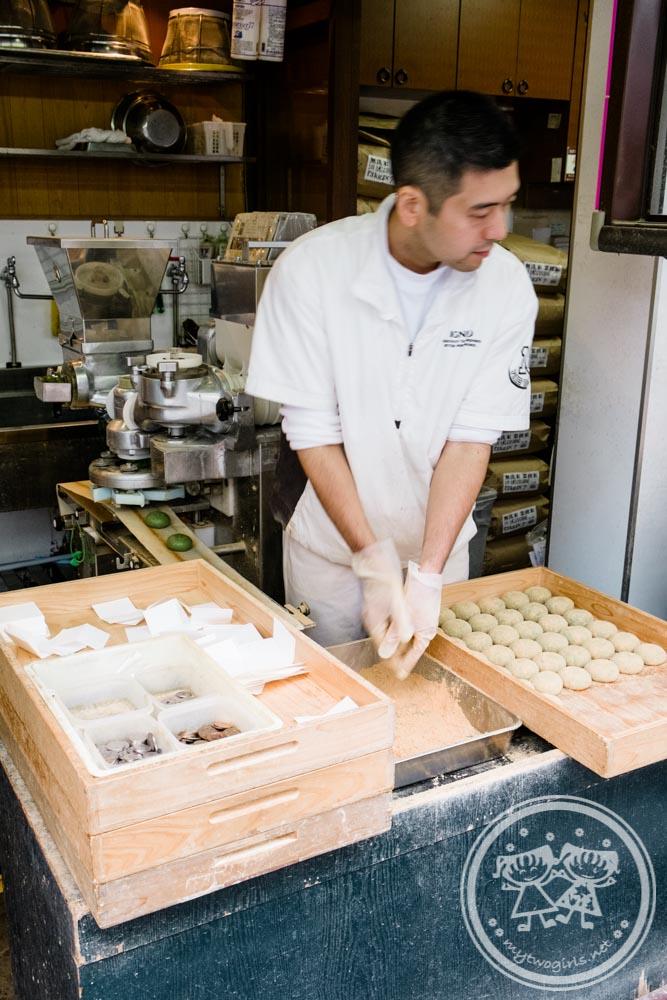 Famous Mochi Shop at Nara