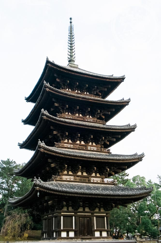 Kofukuji pagoda (五重塔)
